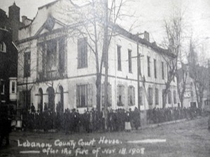 Court House After 1908 Fire