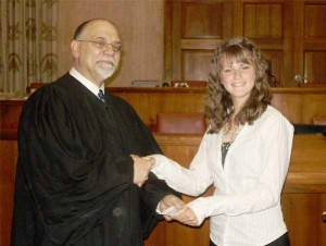 Judge Tylwalk and Mariah Mitchell